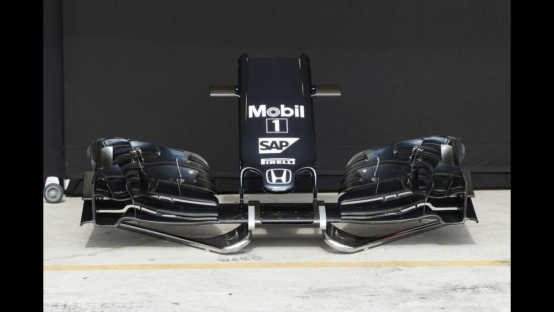 McLaren - Formel 1 - GP USA - Austin - 19. Oktober 2016