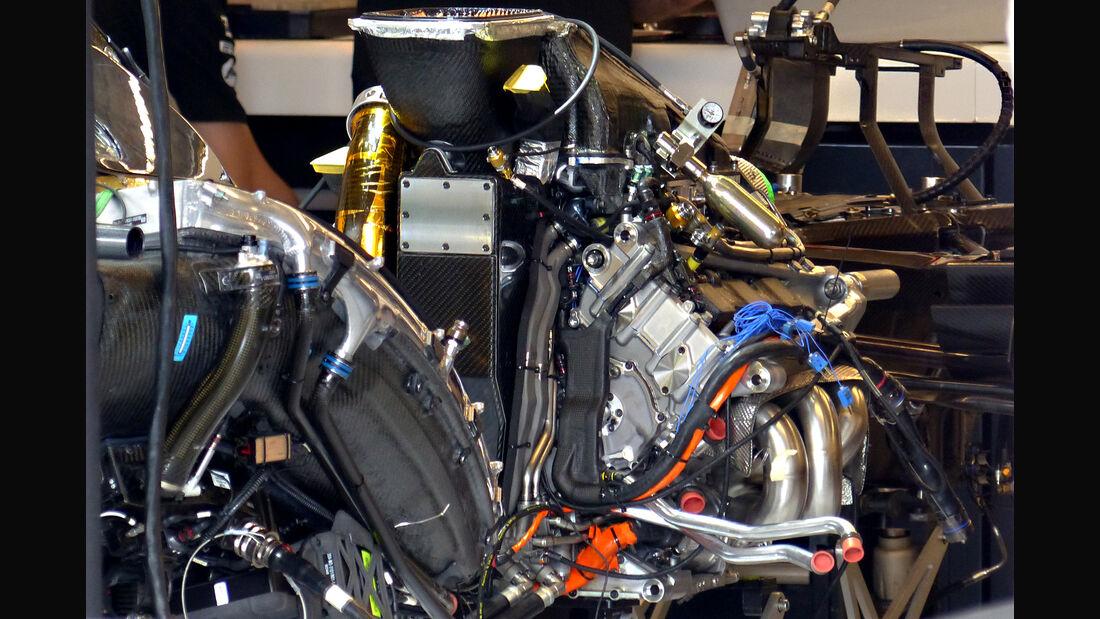 McLaren - Formel 1 - GP USA - Austin - 21. Oktober 2015