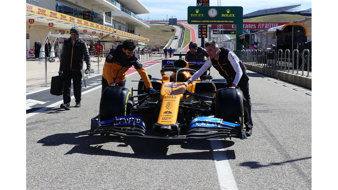 McLaren - Formel 1 - GP USA - Austin - 31. Oktober 2019