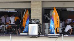 McLaren - Formel 1 - GP USA - Austin - Donnerstag - 21.10.2021