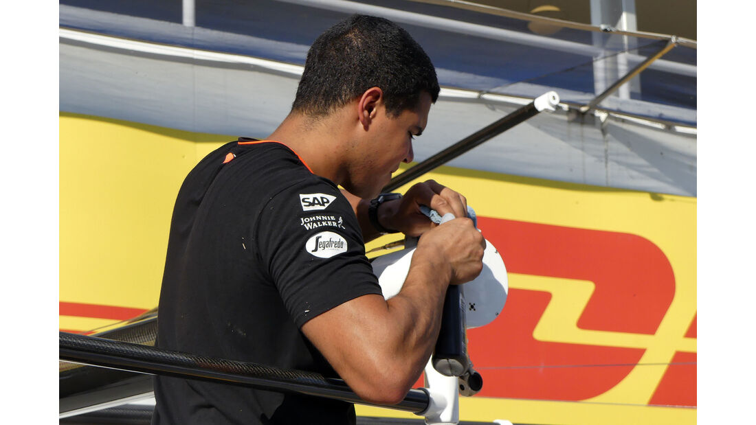 McLaren  - Formel 1 - GP Ungarn - 20. Juli 2016