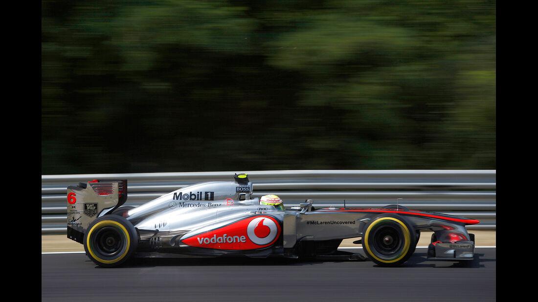 McLaren - Formel 1 - GP Ungarn 2013