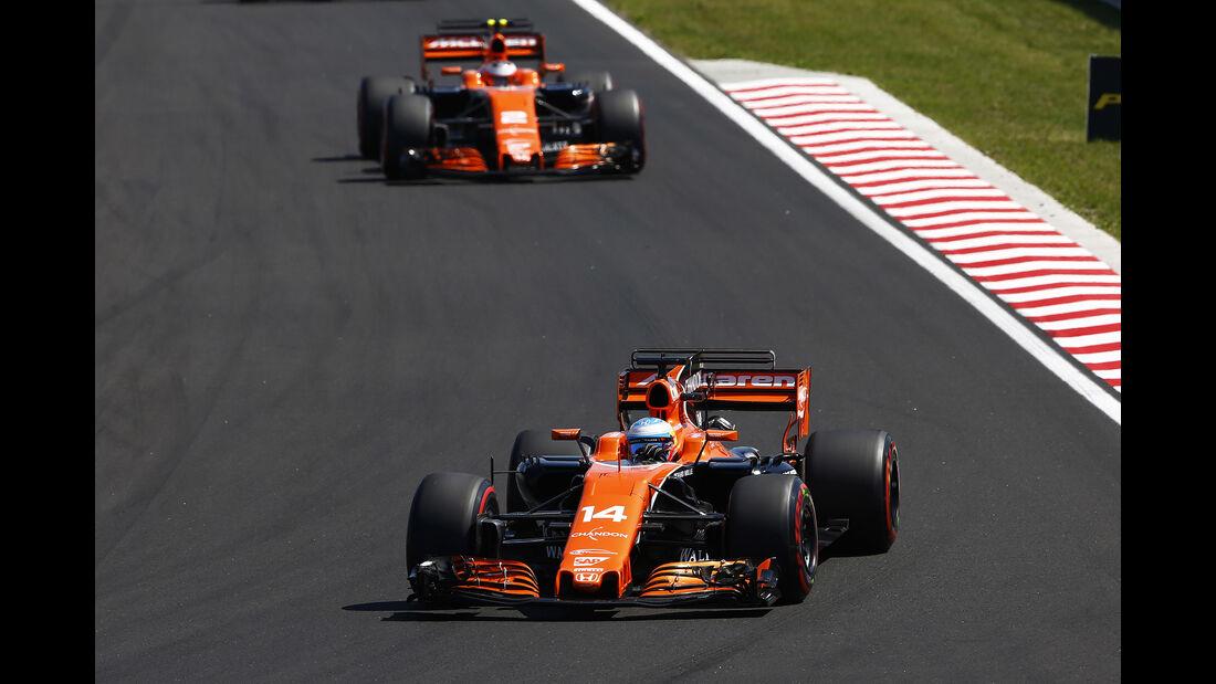 McLaren - Formel 1 - GP Ungarn 2017