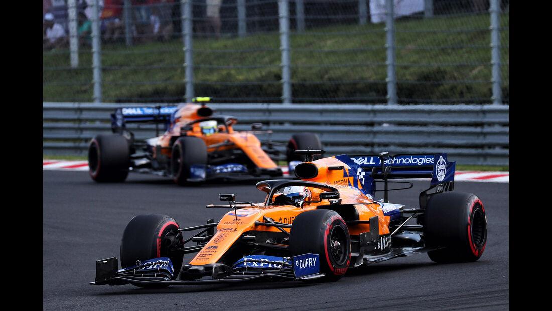 McLaren - Formel 1 - GP Ungarn 2019
