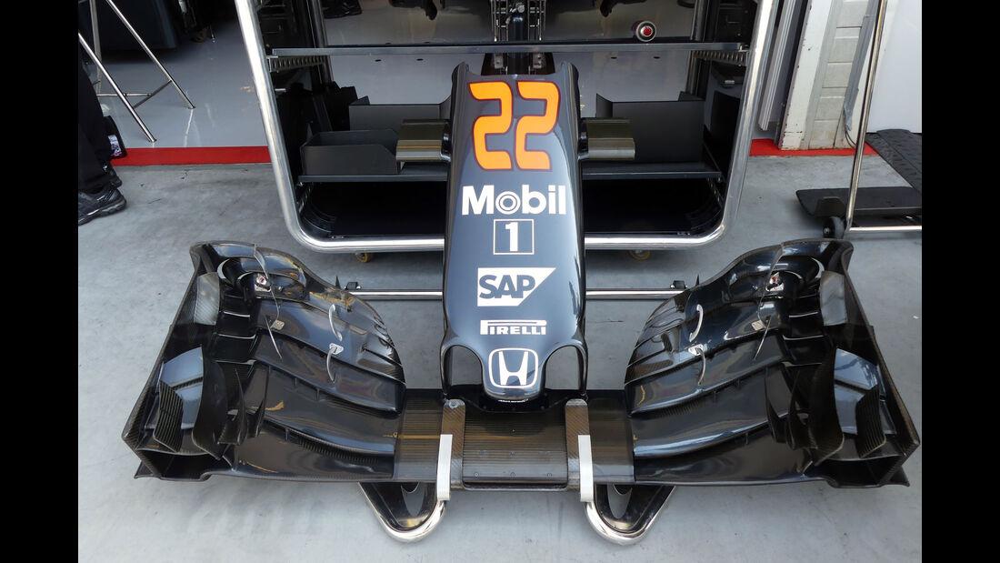 McLaren - Formel 1 - GP Ungarn - 23. Juli 2016