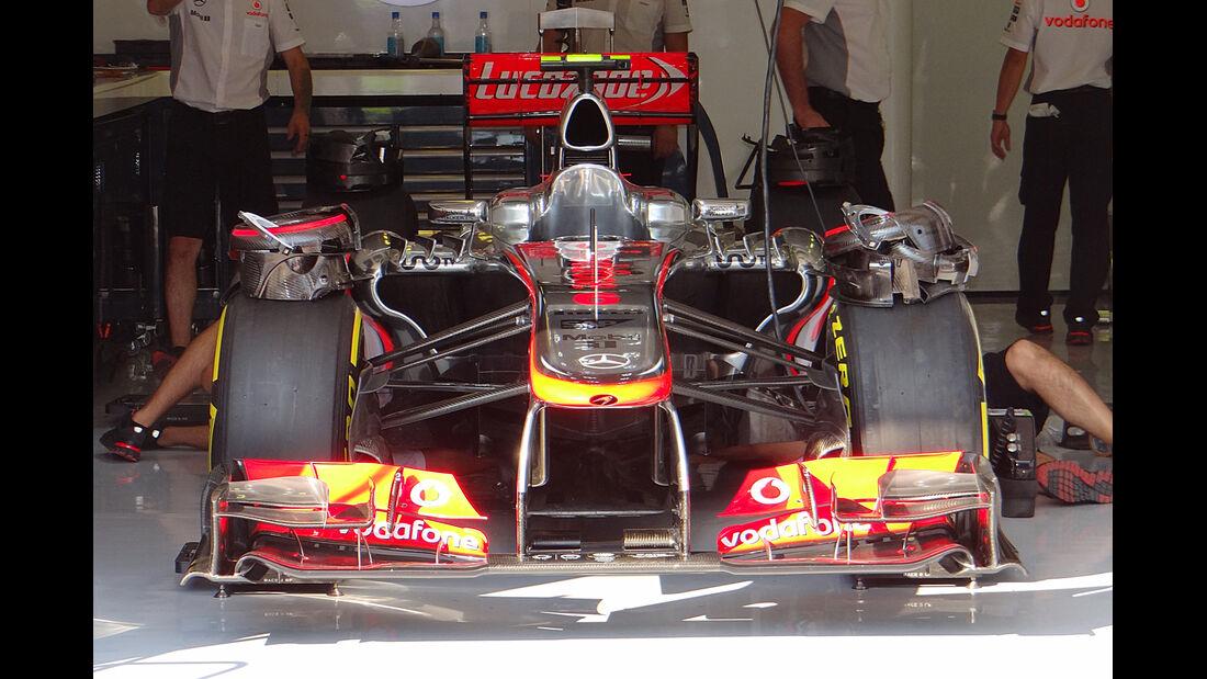 McLaren - Formel 1 - GP Ungarn - 25. Juli 2012