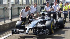 McLaren - Formel 1 - GP Ungarn - Budapest - 24. Juli 2014