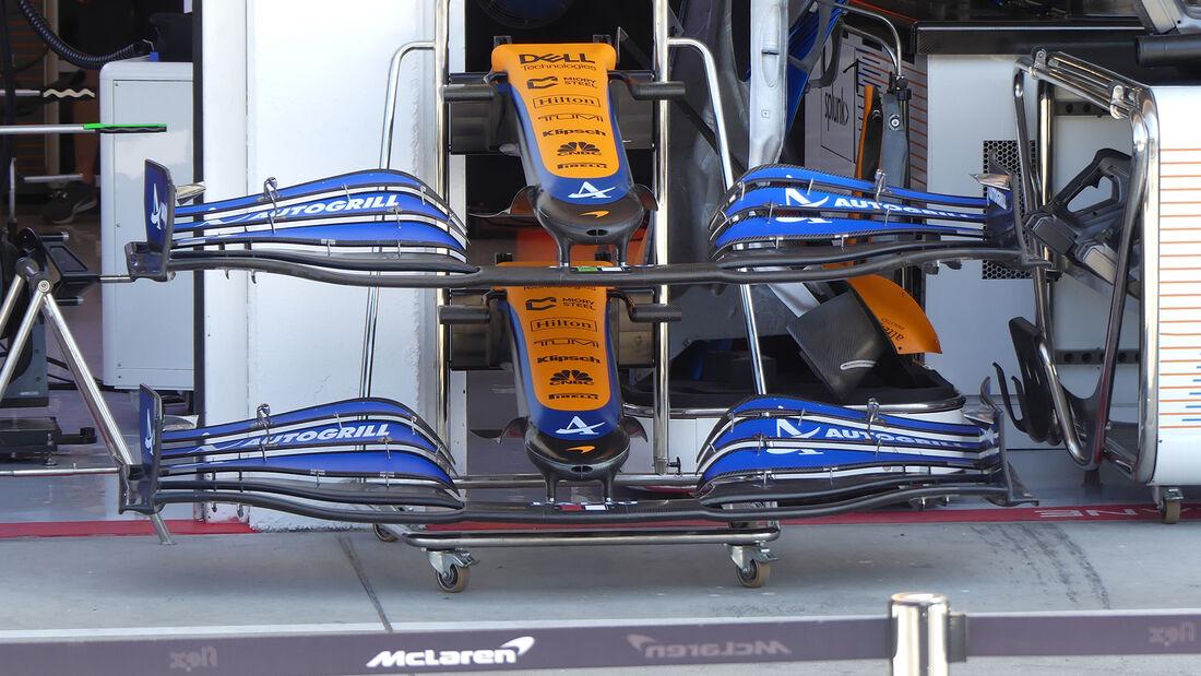 McLaren - Formel 1 - GP Ungarn - Budapest - Donnerstag - 29. Juli 2021
