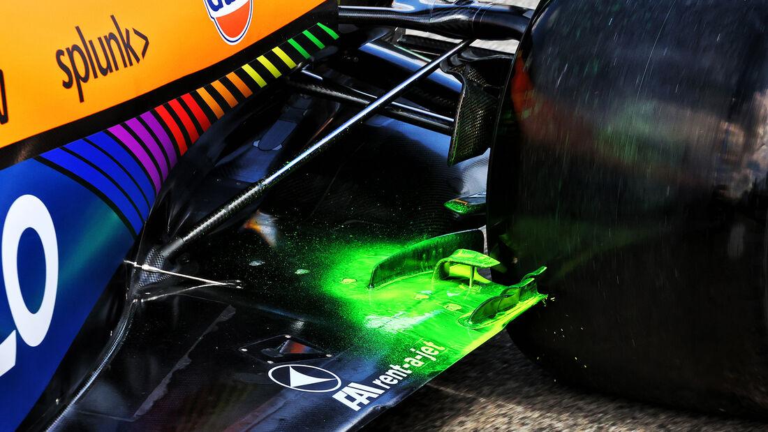 McLaren - Formel 1 - Imola - GP Emilia Romagna - 16. April 2021