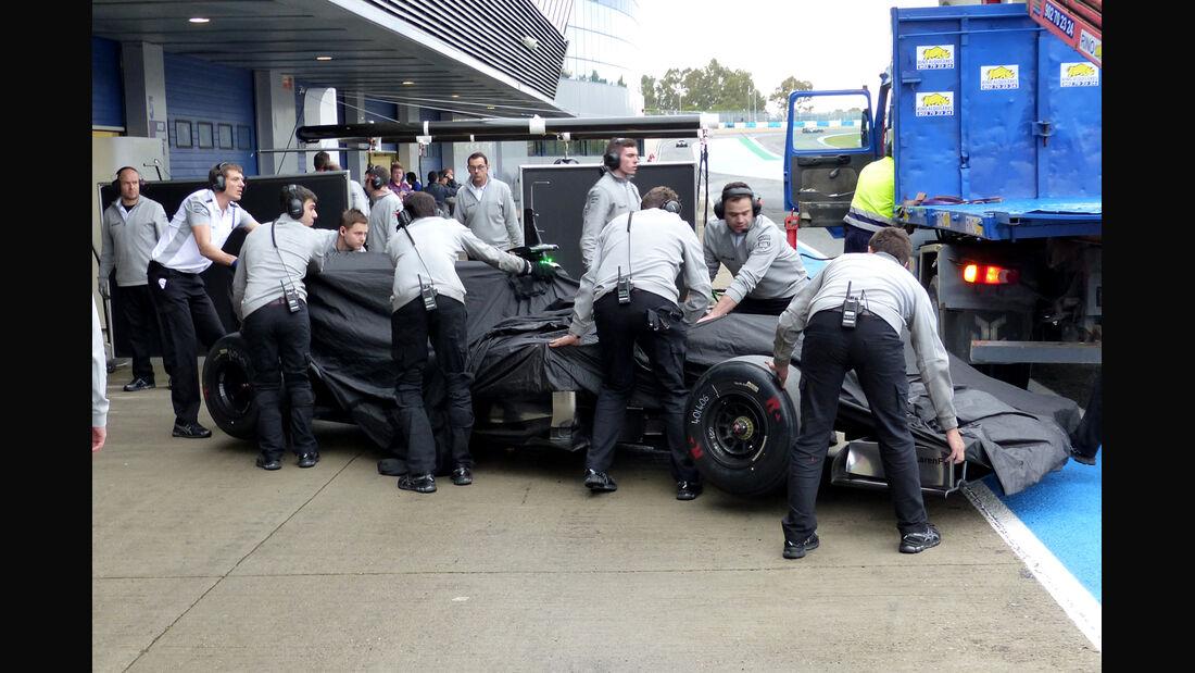 McLaren - Formel 1 - Jerez - Test - 31. Januar 2014