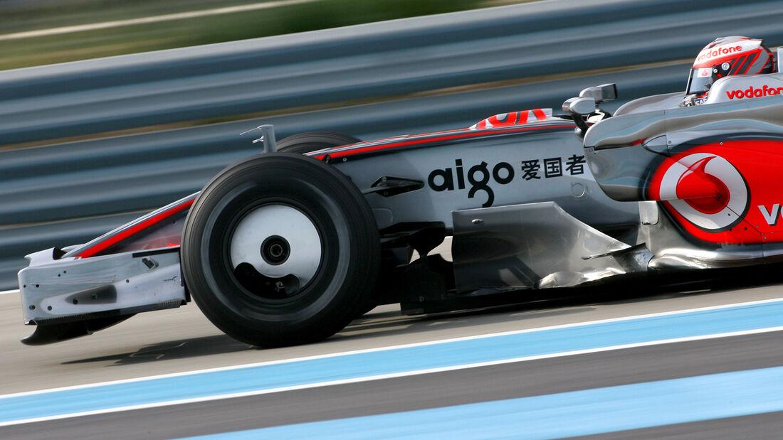 McLaren - Formel 1 - Radkappe - 2007