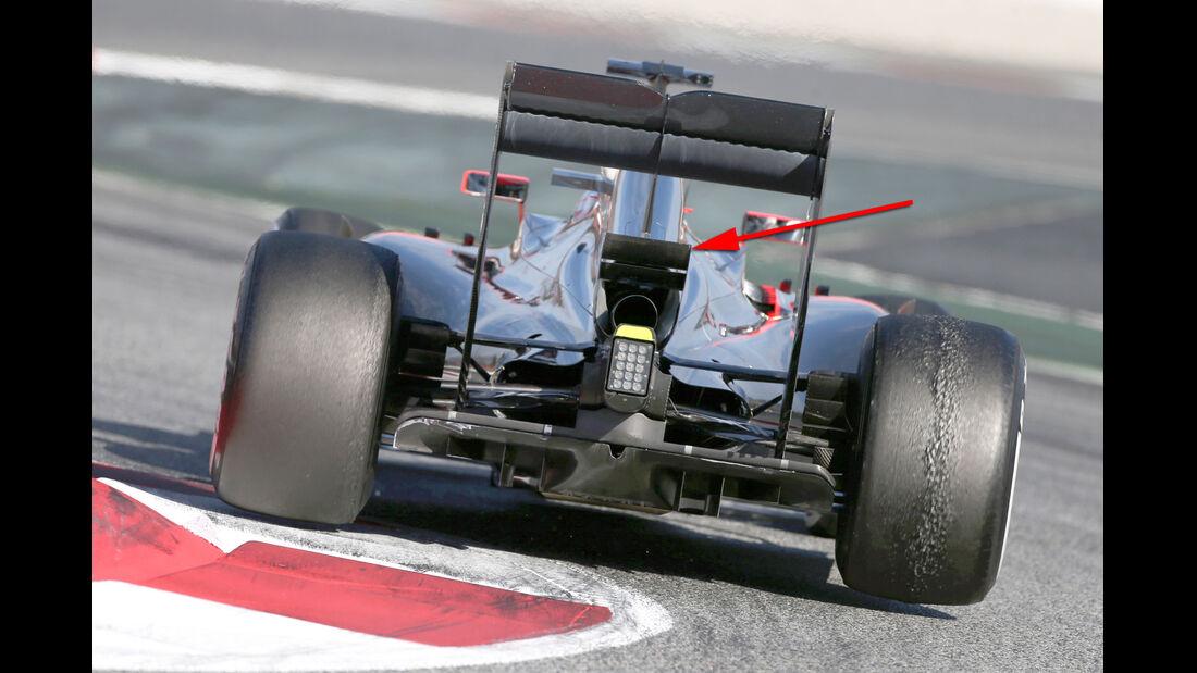 McLaren - Formel 1-Technik - Barcelona-Test 2 - F1 2015