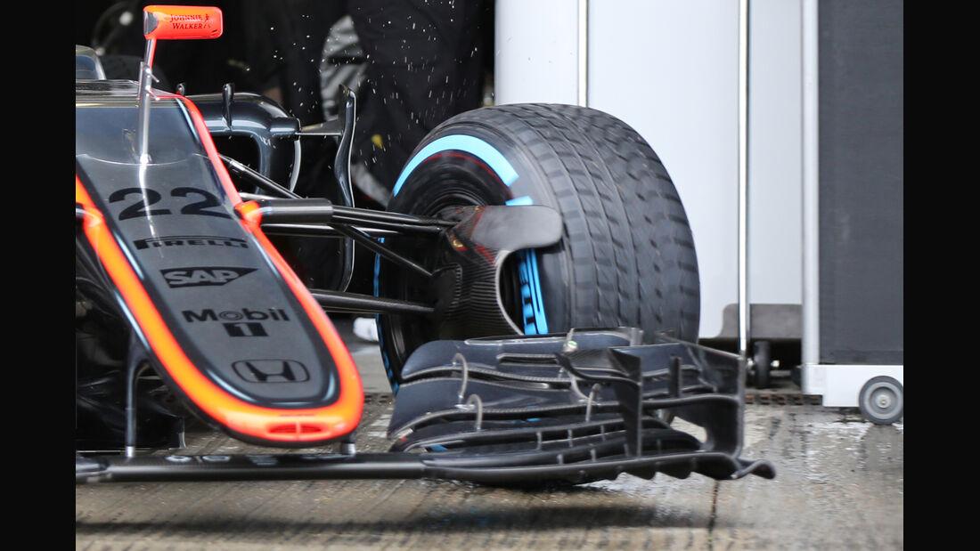 McLaren - Formel 1-Technik - F1-Test - Jerez - 2015