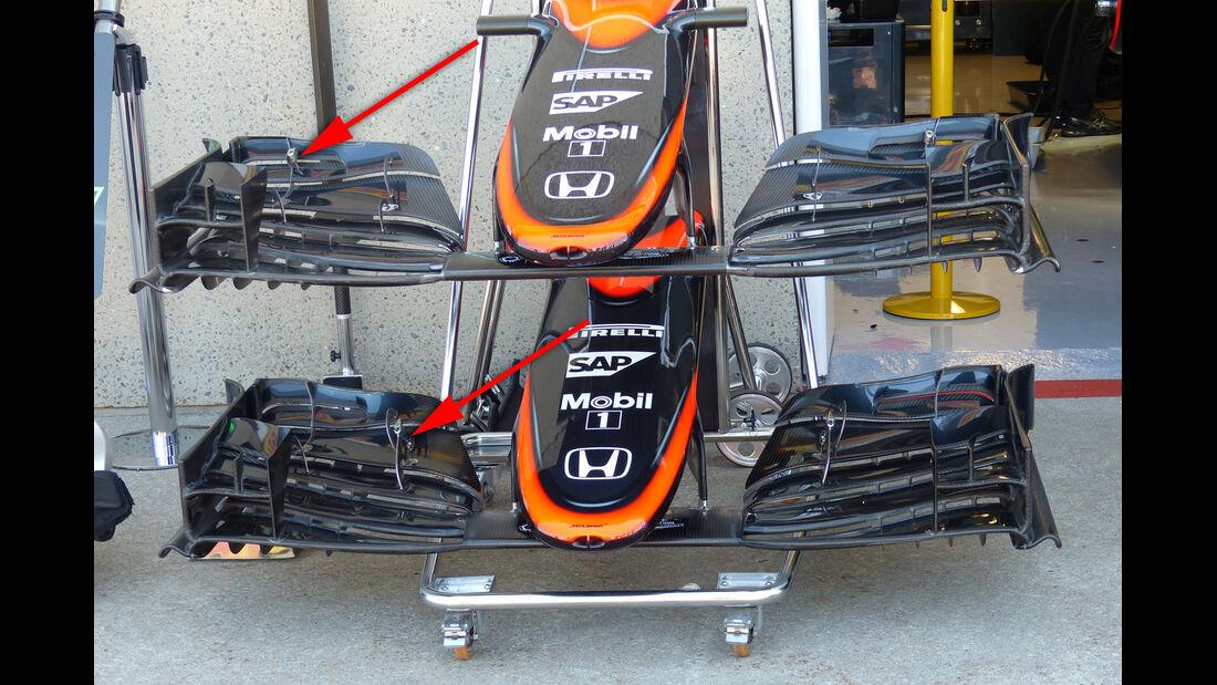 McLaren - Formel 1 - Technik - GP Kanada 2015
