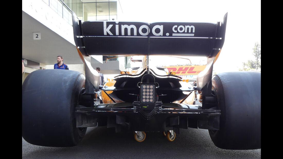 McLaren - Formel 1 - Technik - GP Mexiko 2018