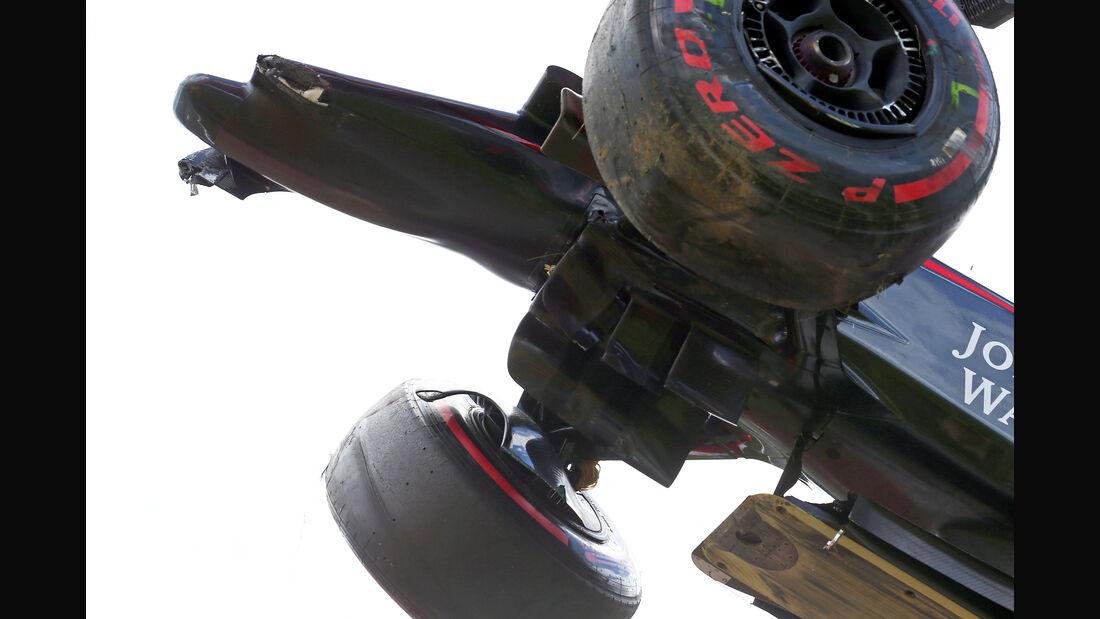 McLaren - Formel 1-Technik - GP Österreich 2015