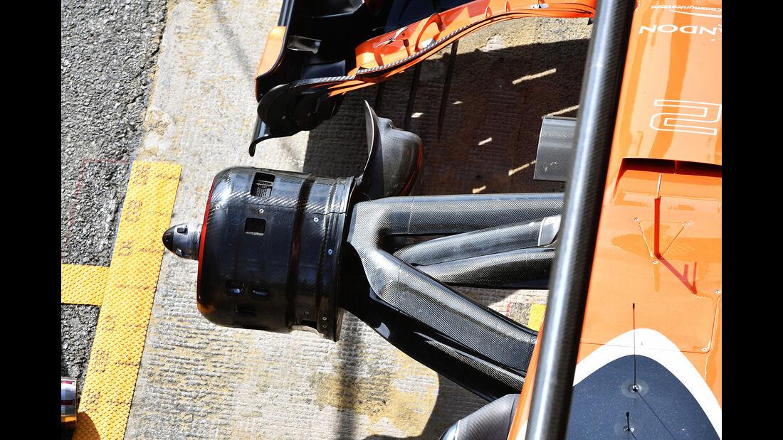 McLaren - Formel 1 - Test - Barcelona - 2. März 2017