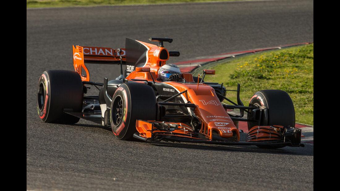 McLaren - Formel 1 - Test - Barcelona - 2017
