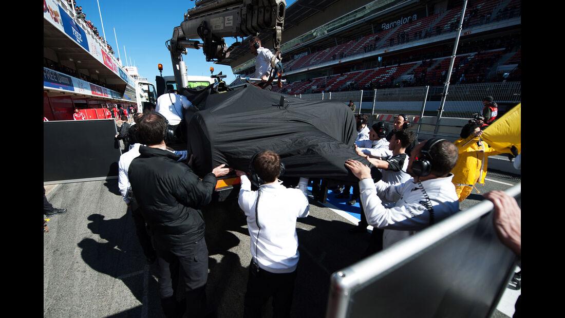 McLaren - Formel 1-Test - Barcelona - 22. Februar 2015