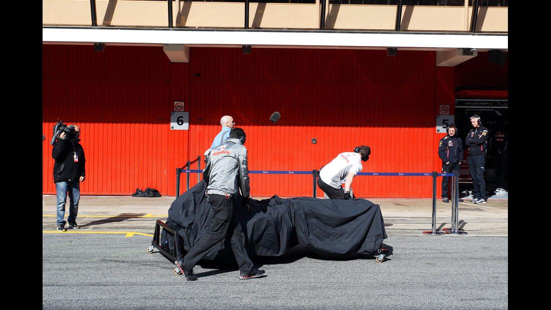 McLaren - Formel 1 - Test - Barcelona - 3. März 2013