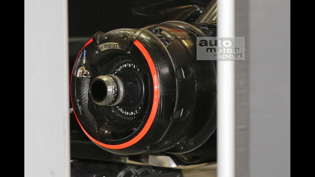 McLaren - Formel 1-Test - Jerez - 3. Februar 2015