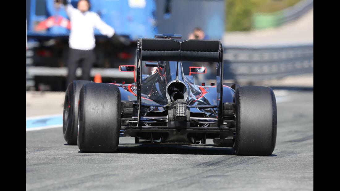 McLaren - Formel 1-Test - Jerez - 4. Februar 2015