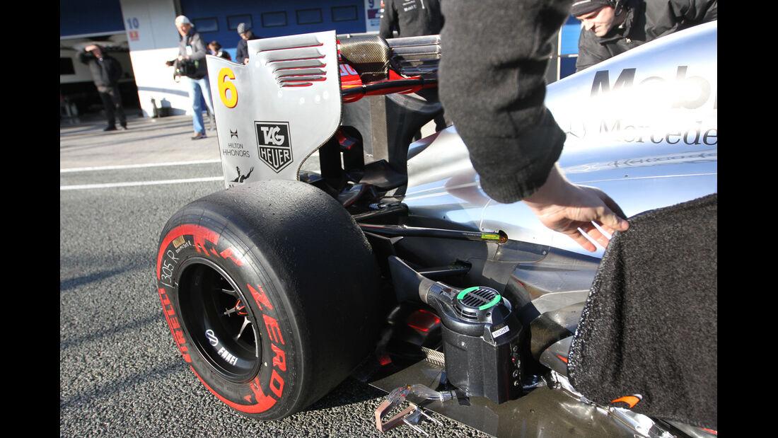 McLaren - Formel 1 - Test - Jerez - 6. Februar 2013
