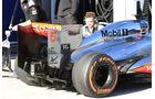 McLaren, Formel 1-Test, Jerez, 7.2.2013