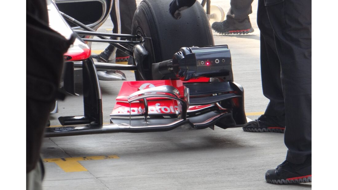 McLaren Frontflügel  - Formel 1 - GP Indien - 26. Oktober 2012