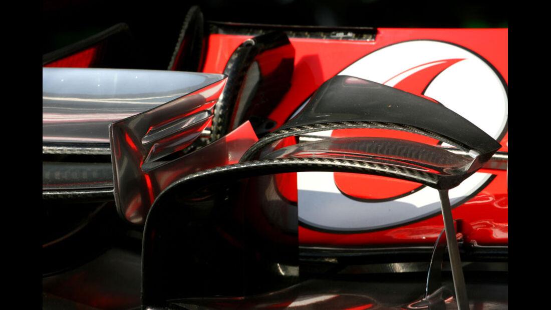 McLaren Frontflügel GP Monaco 2011