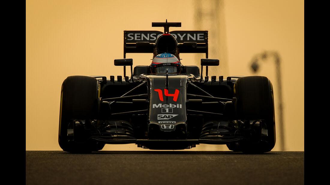 McLaren - GP Abu Dhabi 2016