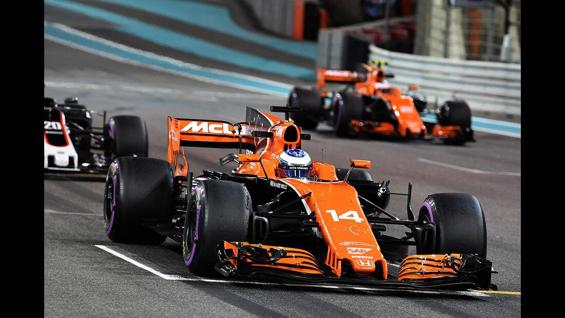 McLaren - GP Abu Dhabi 2017