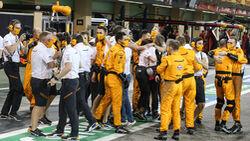 McLaren - GP Abu Dhabi 2020 - Rennen