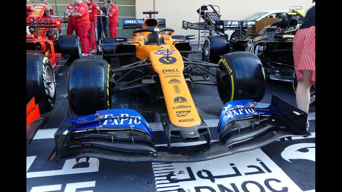 McLaren - GP Abu Dhabi - Formel 1 - Donnerstag - 28.11.2019