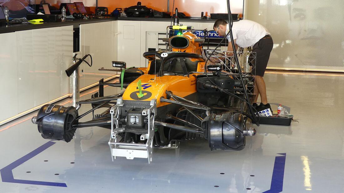 McLaren - GP Abu Dhabi - Formel 1 - Freitag - 29.11.2019