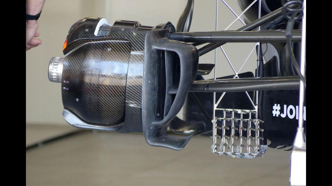 McLaren - GP Aserbaidschan 2017 - Baku - Technik-Updates