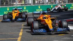 McLaren - GP Aserbaidschan 2021