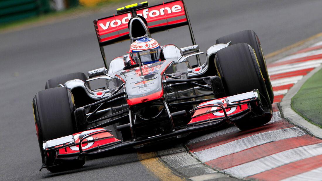 McLaren - GP Australien 2011