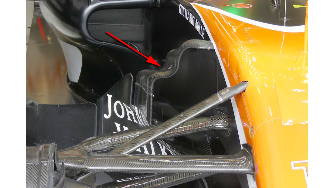 McLaren - GP Australien - Formel 1 - Technik - 2017