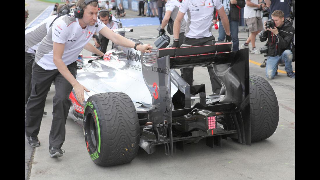 McLaren - GP Australien - Melbourne - 16. März 2012