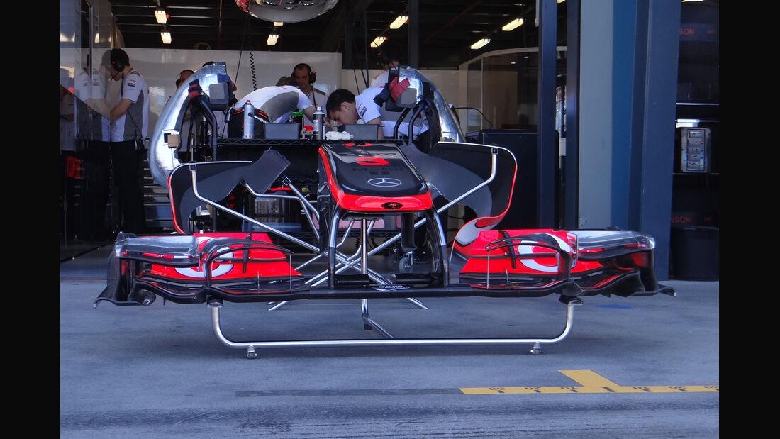 McLaren - GP Australien - Melbourne - 17. März 2012