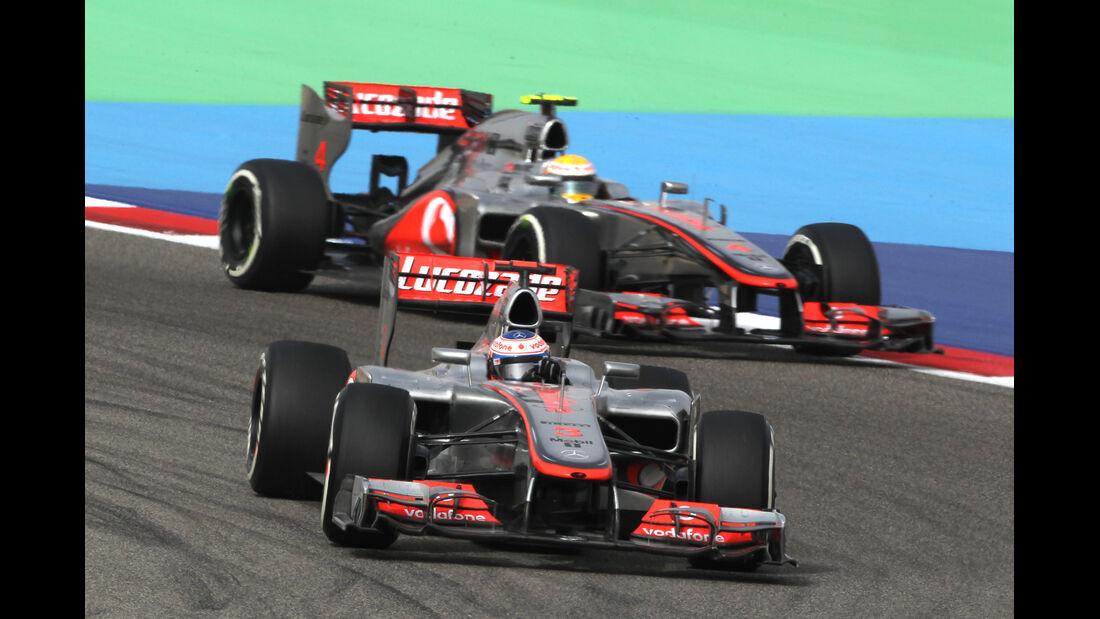 McLaren GP Bahrain 2012
