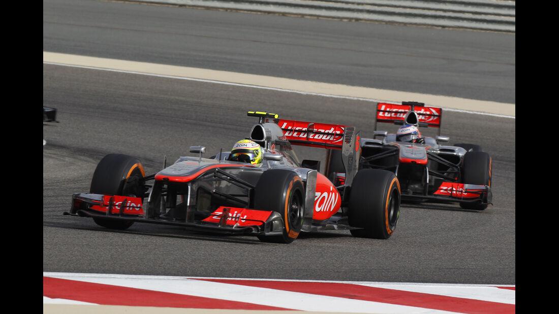 McLaren GP Bahrain 2013