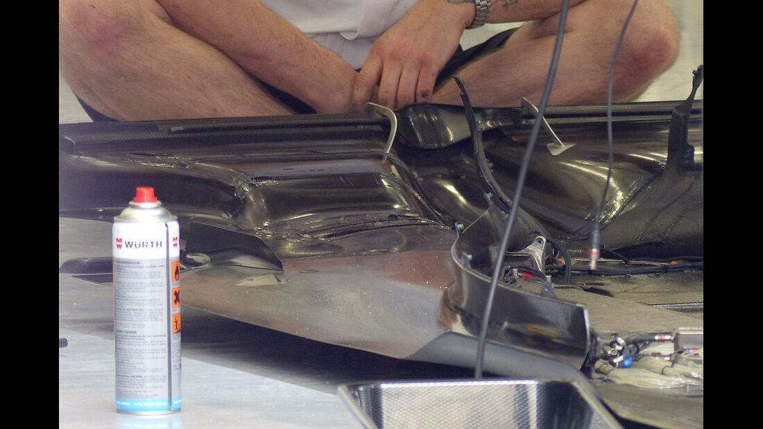 McLaren - GP Bahrain 2014 Technik