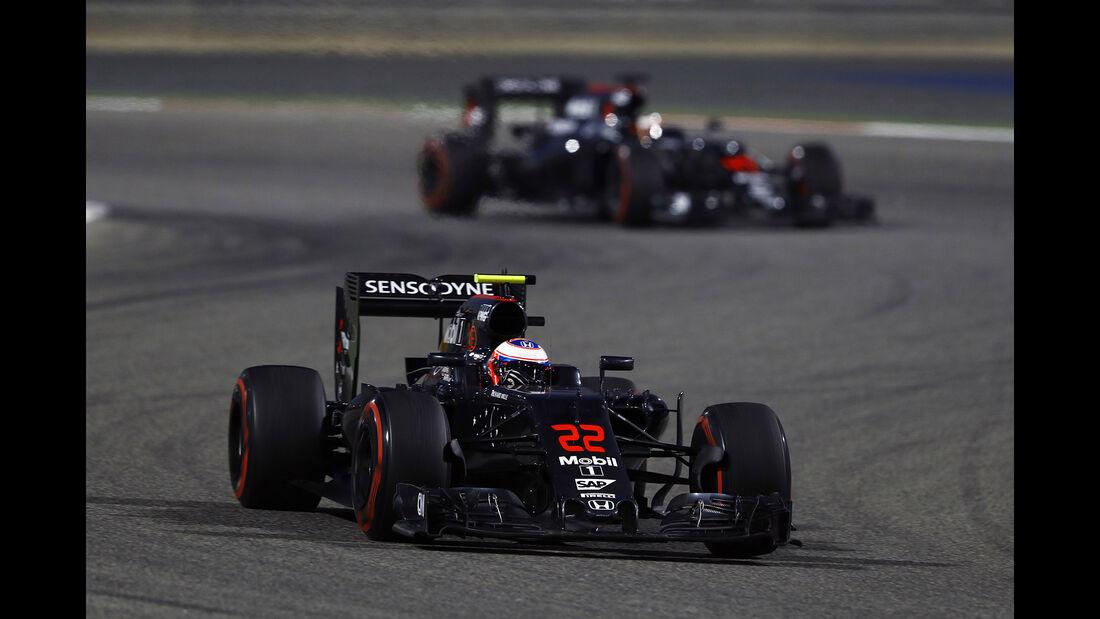 McLaren - GP Bahrain 2016