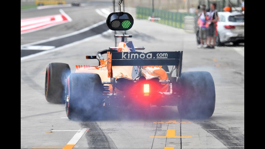 McLaren - GP Bahrain 2018