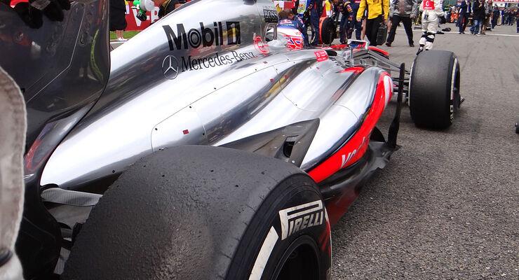 McLaren - GP Belgien - 2013