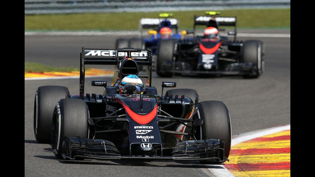 McLaren - GP Belgien 2015