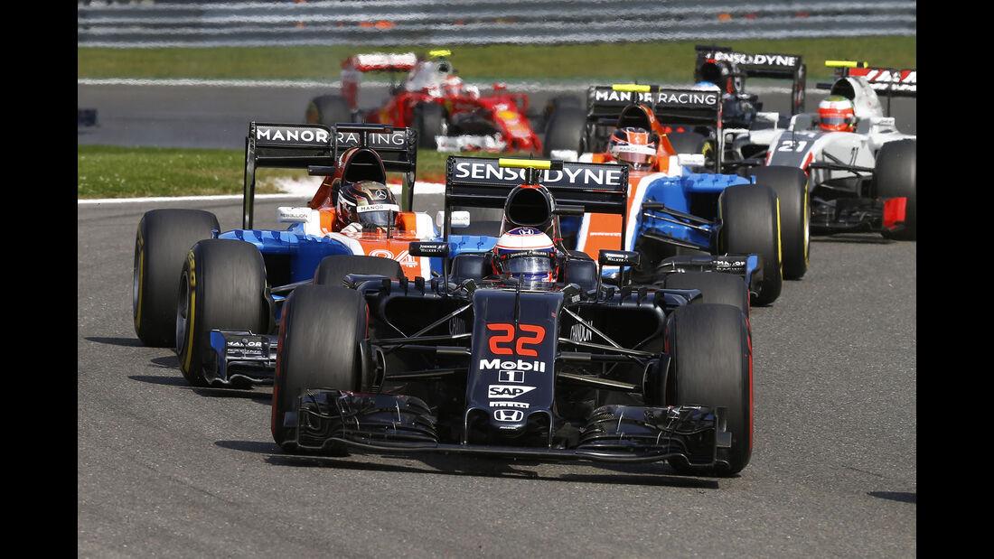 McLaren - GP Belgien 2016