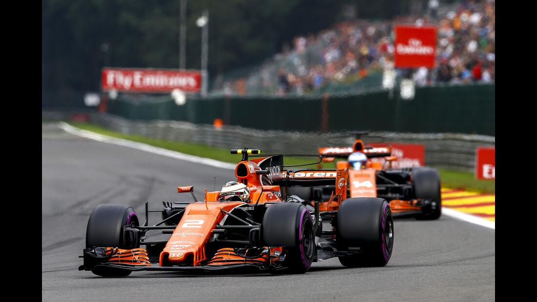 McLaren - GP Belgien 2017